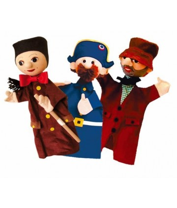 Marionnettes trio guignol
