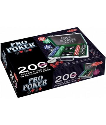Mallette poker 200 jetons