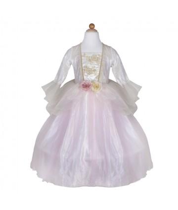 Robe princesse rose et or...