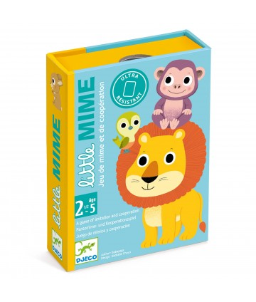 Jeu de cartes Little Mime