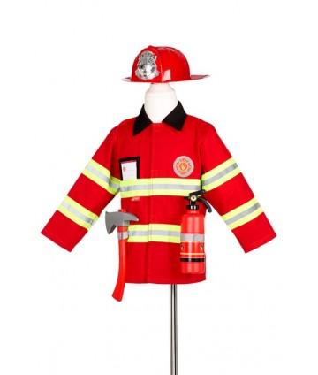 Pompier + accessoires 4-7 ans