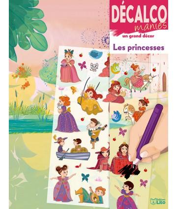 Décalcomanies - Les princesses