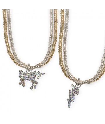 Collier - Glitter Unicorn...