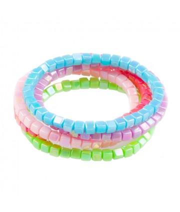 Bracelets arc-en-ciel (x5)