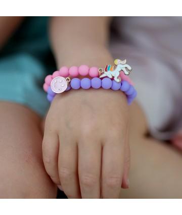 Bracelets pastel (x 2)