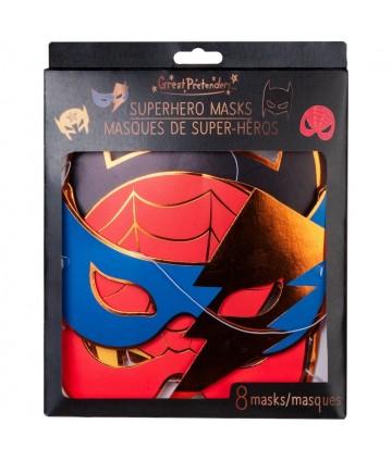 Masques - Superhero (8 pcs)
