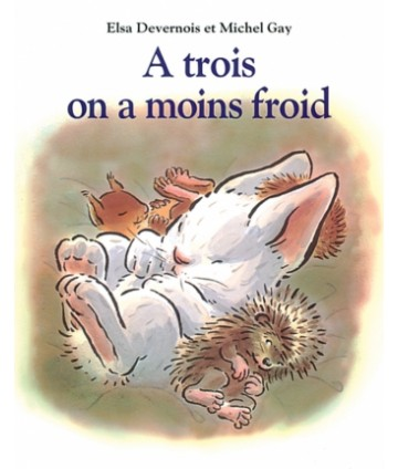 A trois on a moins froid...