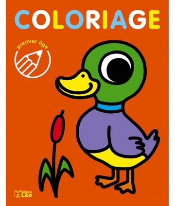 Coloriage 1er âge canard