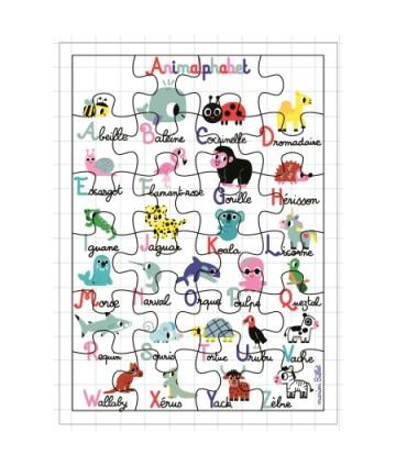 Carte géante puzzle...