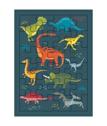 Carte géante puzzle les...