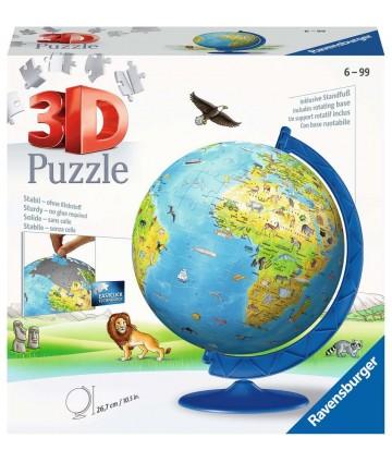 Puzzle 3D globe - 180 pièces