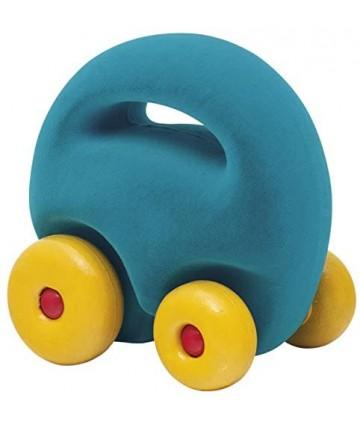 Mascot car turquoise rubbabu
