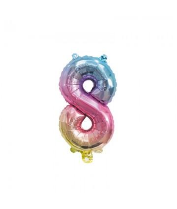 Ballon Mylar chiffre 8...