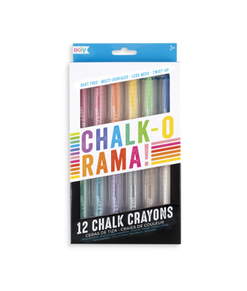 Crayons craie Chalk o Rama !