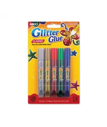 Crayons colle pailletée...