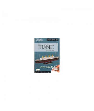 Maquette 3D - Le Titanic à...