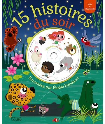 Livre CD - 15 histoires du...