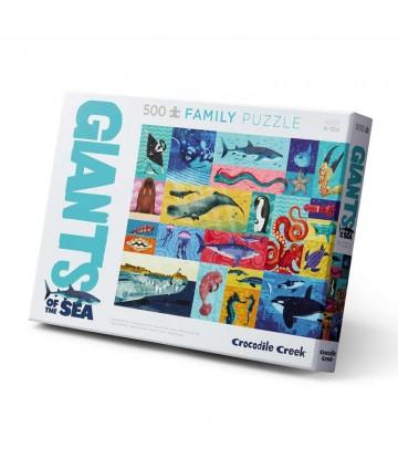 Puzzle famille Géants des...