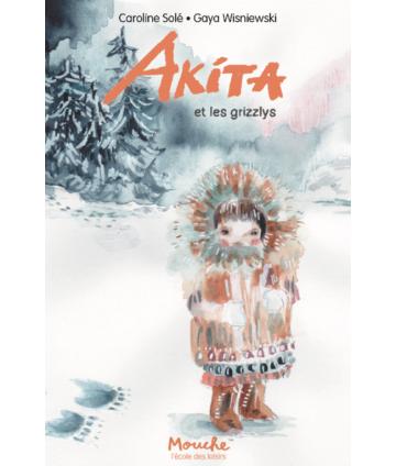 Akita et les grizzlys