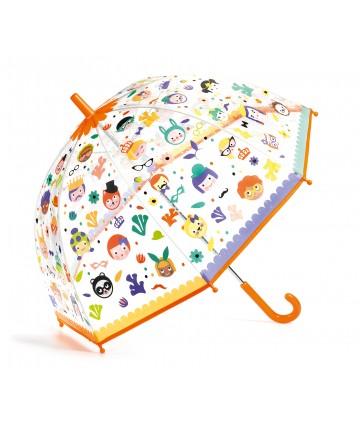 Parapluie magique faces