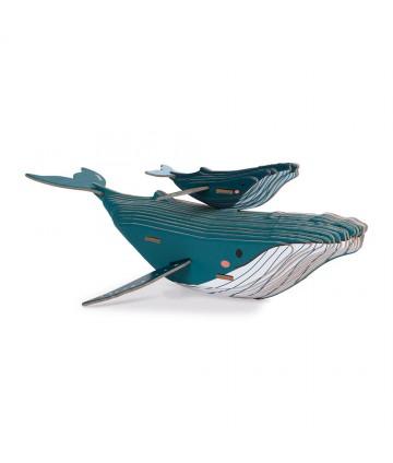 Baleine 3D à assembler