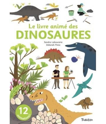 Le livre animé des dinosaures