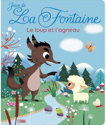 Livre fable - Le loup et...