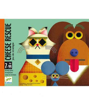Cheese Rescue - jeu de cartes