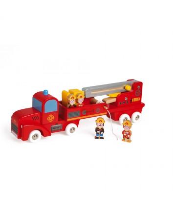 Camion de pompiers géant en...