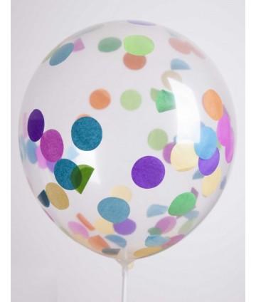 Ballons confettis 31 cm