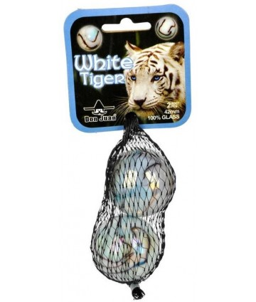 Sachet 2 boulards Tigre blanc