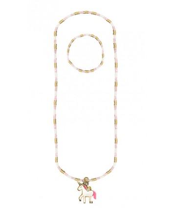 Collier et bracelet licorne