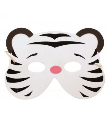 Masque enfant Tigre blanc