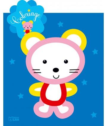 Coloriage étoile Petite souris