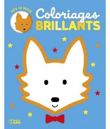 Coloriages brillants renard