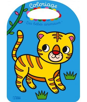 Coloriage - bébés animaux...