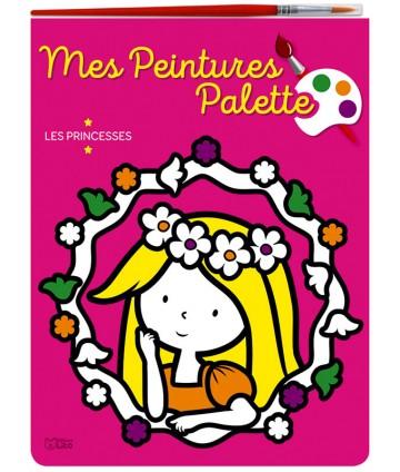 Peinture palette : princesses