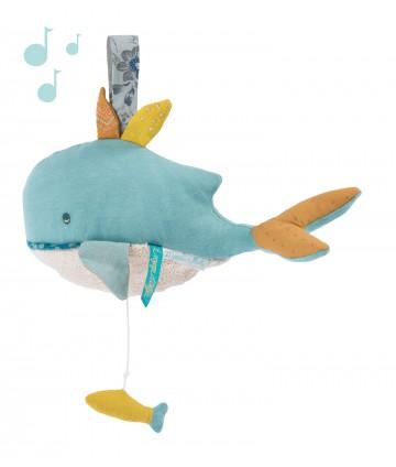 Peluche musicale baleine le...