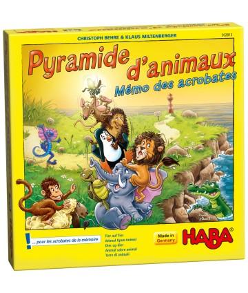 Pyramide d'animaux Mémo des...