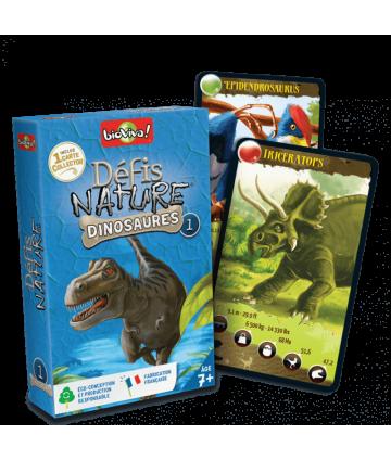 Défis Nature Dinosaures 1 bleu