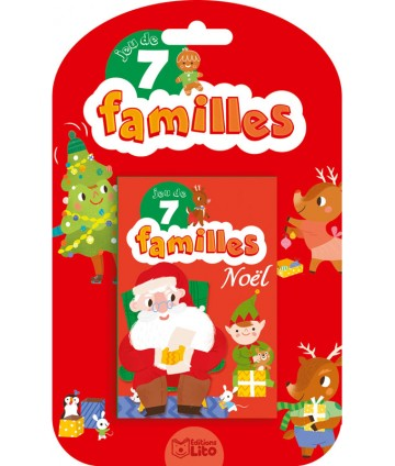 Jeu de 7 familles Noël