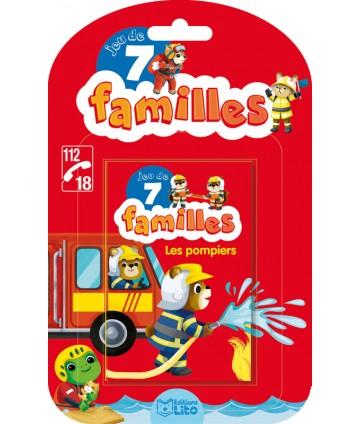 Jeu de 7 familles Les pompiers