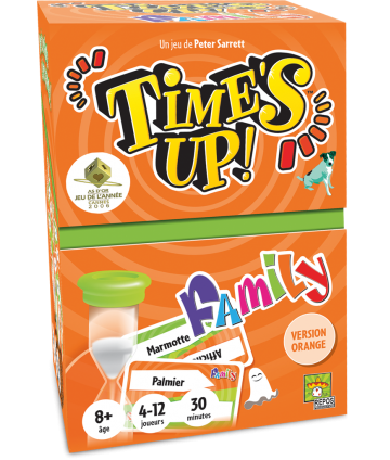Times Up Family 2 orange