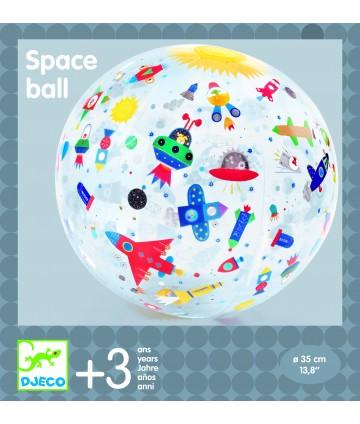 Ballon gonflable espace 35 cm