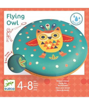 Disque volant Flying owl