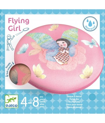 Disque volant Flying girl