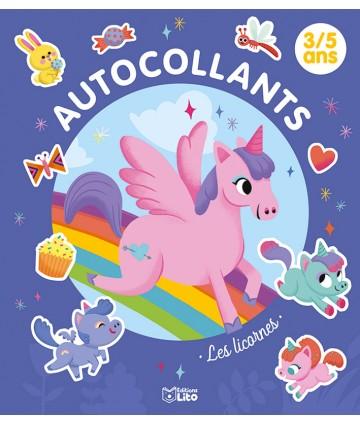 Autocollants - Les licornes