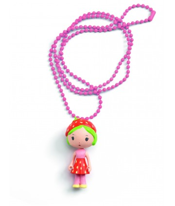 Collier Tinyly charms - Berry