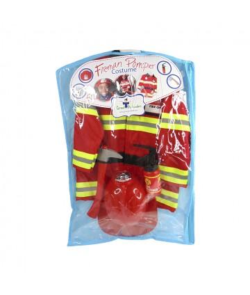 Ensemble pompier 5pcs 5-6 ans