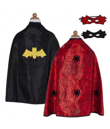 Cape réversible spider/bat...